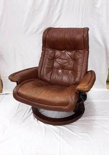 Leather Armchair Reupholstering