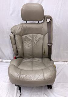 Car Seat Reupholstering With Leather
