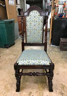 Antique Chair Reupholstering