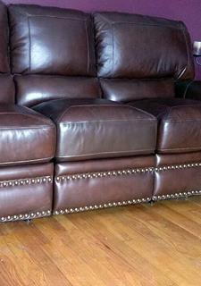 sofa leather repair repairing faux leather upholstery thrift