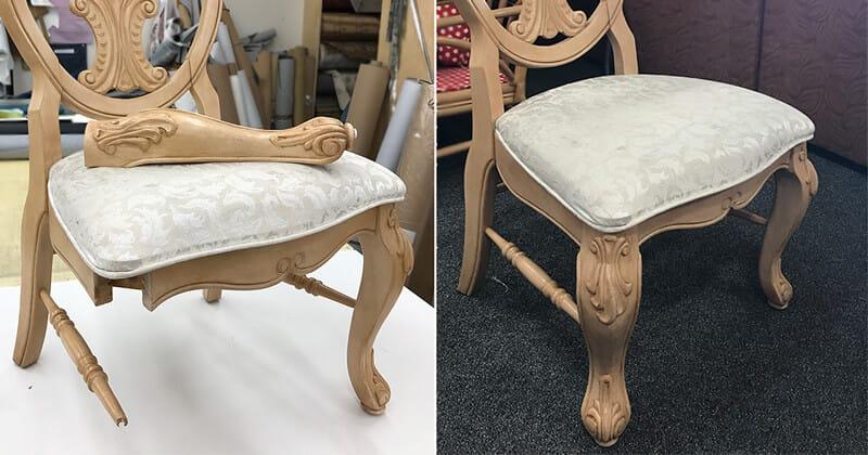 Furniture repair, restoration, wood repair services
