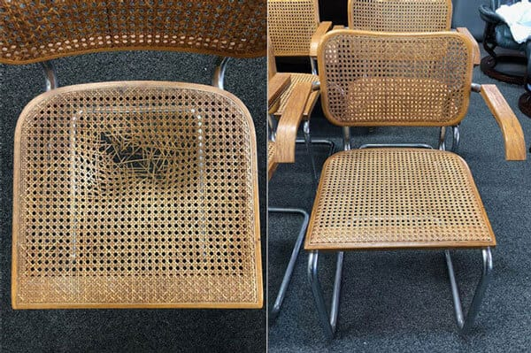 Chair seat caning replacement