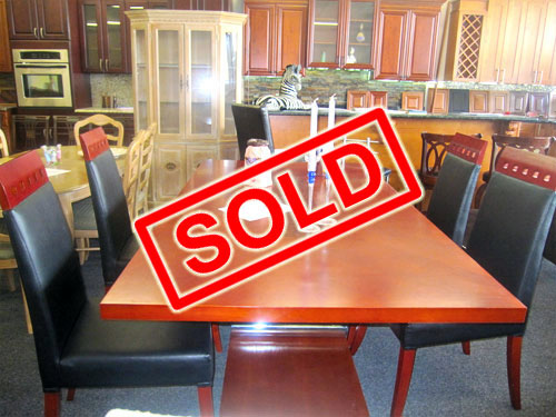 Dining set table and four chairs