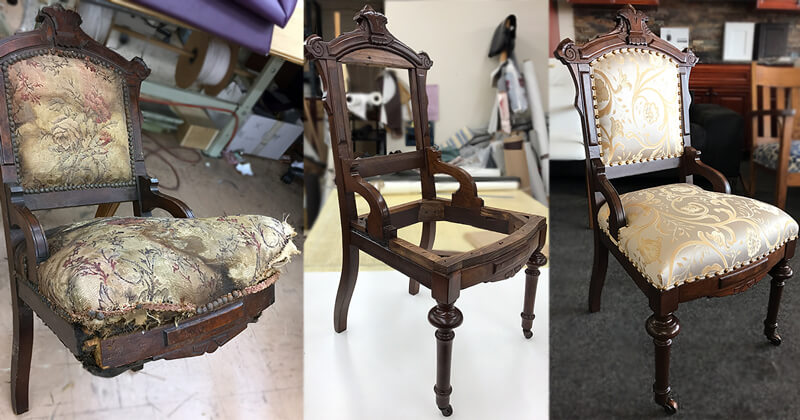 Furniture repair and restoration
