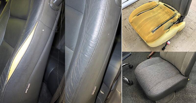Auto upholstery repair, restoration, custom interior
